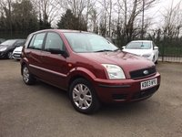 USED 2003 03 FORD FUSION 1.6 FUSION 2 5d  WITH LOADS OF SERVICE HISTORY AND NEW MOT LOW MILEAGE PART EXCHANGE