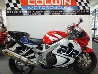 1999 HONDA CBR900RR FIREBLADE 900cc £4295.00