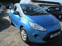 2011 FORD KA 1.2 EDGE 3DR £3995.00