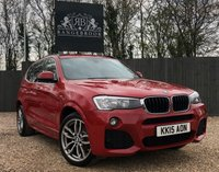USED 2015 15 BMW X3 2.0 XDRIVE20D M SPORT 5dr 1 Year Parts & Labour Warranty
