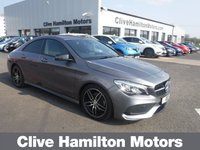 USED 2017 66 MERCEDES-BENZ CLA 2.1 CLA 220 D AMG LINE 4d AUTO 174 BHP