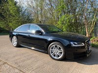 USED 2016 16 AUDI A8 3.0 TDI QUATTRO SPORT EXECUTIVE 4d AUTO 258 BHP One Owner