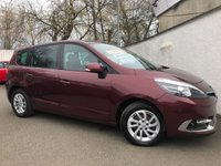 2014 RENAULT GRAND SCENIC 1.5 DYNAMIQUE TOMTOM ENERGY DCI S/S 5d 110 BHP £8495.00