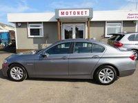 2014 BMW 5 SERIES 2.0 520D SE 4DR AUTOMATIC DIESEL 181 BHP £10400.00