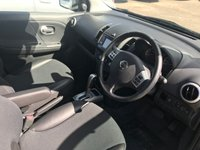 USED 2012 62 NISSAN NOTE 1.6 N-TEC PLUS 5d AUTO 110 BHP