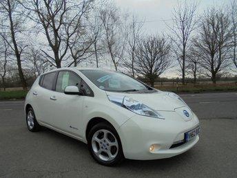 2012 NISSAN LEAF EV AUTO £7995.00