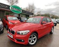 2015 BMW 1 SERIES 2.0 118D SE 5d AUTO 147 BHP £10989.00