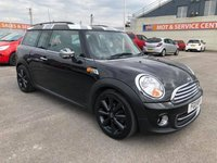 USED 2011 11 MINI CLUBMAN 1.6 COOPER 5d 122 BHP GOT A POOR CREDIT HISTORY * DON'T WORRY * WE CAN HELP * APPLY NOW *
