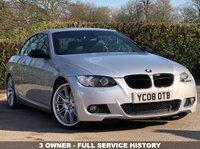 USED 2008 08 BMW 3 SERIES 3.0 325I M SPORT 2d AUTO 215 BHP