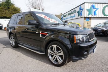 2012 LAND ROVER RANGE ROVER SPORT 3.0 SDV6 HSE RED EDITION 5DR AUTO £17989.00