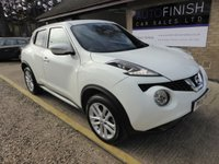 USED 2016 16 NISSAN JUKE 1.5 N-CONNECTA DCI 5d 110 BHP * 1 KEEPER FROM NEW * FULL SERVICE HISTORY * £20 ROAD TAX * 2 KEYS * SAT-NAV * DAB RADIO * £0 DEPOSIT FINANCE AVAILABLE *
