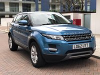 USED 2012 62 LAND ROVER RANGE ROVER EVOQUE 2.2 SD4 PURE 5d AUTO 190 BHP