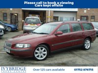 USED 2003 03 VOLVO V70 2.4 S 5d 140 BHP P/X TO CLEAR + MOT DECEMBER 2019