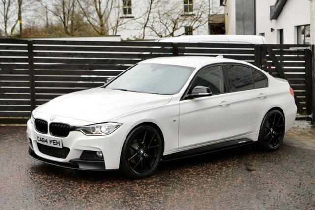 2014 64 BMW 3 SERIES 2.0 320D M SPORT 4d AUTO 181 BHP
