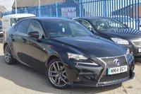 2014 LEXUS IS 2.5 300H F SPORT 4d AUTO 220 BHP £16495.00