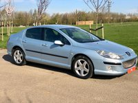 USED 2005 55 PEUGEOT 407 2.0 EXECUTIVE HDI AUTO 135 BHP 4DR SALOON +SAT NAV+LEATHER+NEW CAMBELT+