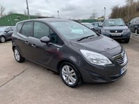 USED 2011 11 VAUXHALL MERIVA 1.4 SE 5d 119 BHP FREE 12 MONTH AA ROADSIDE RECOVERY INCLUDED