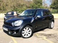 2012 MINI COUNTRYMAN 2.0 COOPER SD ALL4 5d FULL LEATHER, PAN ROOF, SAT NAV, PRIVACY  £8490.00