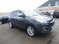 USED 2010 60 HYUNDAI IX35 2.0 PREMIUM CRDI 4WD 5d 134 BHP GOT A POOR CREDIT HISTORY * DON'T WORRY * WE CAN HELP * APPLY NOW *