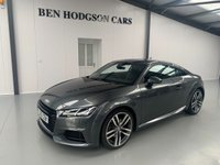 USED 2015 65 AUDI TT 2.0 TFSI S LINE 2d 227 BHP PARK ASSIST, BLUETOOTH, VIRTUAL COCKIT