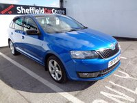 USED 2014 64 SKODA RAPID 1.6 SPACEBACK ELEGANCE TDI CR 5d 104 BHP £136 A MONTH WITH NO DEPOSIT ALLOYS PAORAMIC ROOF PARKING SENSORS PRIVACY GLASS 2 KEYS