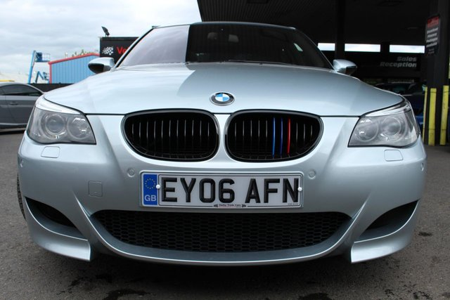BMW M5 at Derby Trade Cars