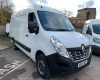 USED 2015 65 RENAULT MASTER 2.3 MML35 BUSINESS DCI S/R P/V 1d 125 BHP immaculate condition