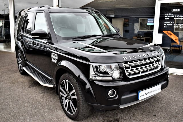 2015 64 LAND ROVER DISCOVERY 4 3.0 SDV6 HSE LUXURY 5d AUTO 255 BHP