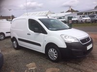 USED 2016 16 PEUGEOT PARTNER 1.6 BLUE HDI PROFESSIONAL L1