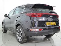 USED 2016 16 KIA SPORTAGE 1.7 CRDI 3 ISG 5d 114 BHP One owner with full Kia service history, 4 years of warranty remaining and load of specification on this model.
