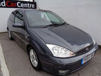 2004 FORD FOCUS 1.8 EDGE 3d 114 BHP £475.00