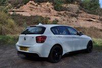 """USED 2014 14 BMW 1 SERIES 1.6 116D EFFICIENTDYNAMICS 5d 114 BHP 18"""" BLACK M SPORT ALLOYS"""