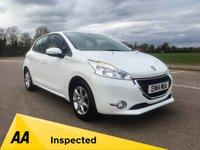 USED 2014 PEUGEOT 208 1.0 ACTIVE 5d 68 BHP