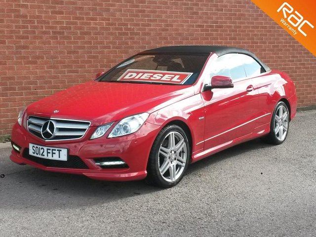 2012 12 MERCEDES-BENZ E-CLASS 2.1 E250 CDI BLUEEFFICIENCY SPORT 2d AUTO 204 BHP