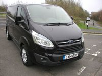 USED 2014 14 FORD TRANSIT CUSTOM 2.2 290 LIMITED LR 1d 153 BHP LWB Van - SOLD Air Con, Alloy Wheels, 56000 miles, Service History