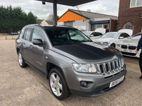 2012 JEEP COMPASS 2.1 CRD LIMITED 4WD 5d 161 BHP £5950.00