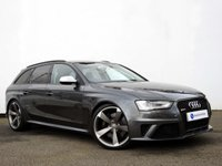 USED 2013 63 AUDI A4 4.2 RS4 AVANT FSI QUATTRO 5d AUTO 444 BHP AUDI RS4 AVANT with GREAT SPECIFICATION......