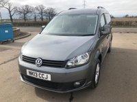2013 VOLKSWAGEN CADDY MAXI 1.6 C20 LIFE TDI 5d AUTO 101 BHP £8995.00