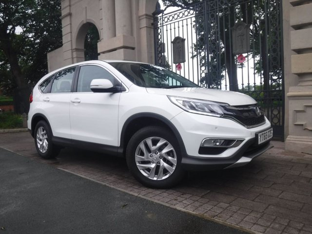 USED 2016 65 HONDA CR-V 1.6 I-DTEC SE 5d AUTO 158 BHP FINANCE & PART EXCHANGE WELCOME *** 1 OWNER 4X4 DIESEL AUTOMATIC REVERSE CAMERA BLUETOOTH PHONE AIR/CON CRUISE CONTROL PARKING SENSORS