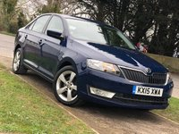 USED 2015 15 SKODA RAPID 1.6 ELEGANCE TDI CR 5d 104 BHP [WESTBURY SITE]  Amundsen Touch Screen Sat Nav Upgrade