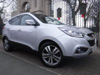 USED 2014 63 HYUNDAI IX35 1.7 PREMIUM PANORAMA CRDI 5d 114 BHP ****FINANCE ARRANGED****PART EXCHANGE WELCOME***£30TAX*1OWNER*CRUISE*NAV*BTOOTH*REAR PARKING SENSORS*CAMERA