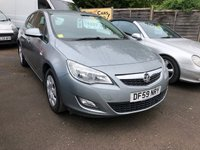 2010 VAUXHALL ASTRA 1.4 EXCLUSIV 5d 98 BHP £5499.00
