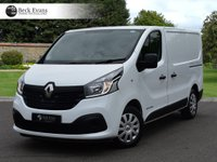 USED 2016 16 RENAULT TRAFIC 1.6 SL27 BUSINESS PLUS DCI S/R P/V 1d 115 BHP AIR CONDITIONING