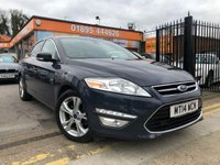 2014 FORD MONDEO 2.0 TITANIUM X BUSINESS EDITION TDCI 5d 161 BHP £10499.00