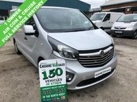 USED 2016 16 VAUXHALL VIVARO 1.6 2900 L1H1 CDTI SPORTIVE 115 BHP 1 OWNER AIR CON CRUISE FSH  1 OWNER FROM NEW FULL SERVICE HISTORY