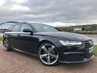 USED 2015 15 AUDI A6 2.0 AVANT TDI ULTRA BLACK EDITION 5d 188 BHP **CRUISE CONTROL**