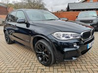 USED 2015 15 BMW X5 3.0 XDRIVE30D M SPORT 5d AUTO 255 BHP FSH+FULL LEATHER+SAT NAV+BT