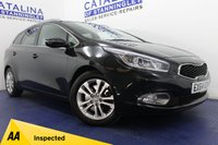 USED 2014 64 KIA CEED 1.6 CRDI 3 5d AUTO 126 BHP SAT NAV - BLUETOOTH - REVERSE CAMERA - AUTOMATIC VEHICLE - DUAL ZONE CLIMATE CONTROL WITH AIR CON