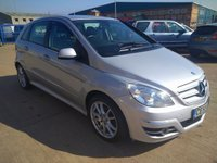 USED 2009 59 MERCEDES-BENZ B-CLASS 1.5 B160 BLUEEFFICIENCY SPORT MOT SERVICE
