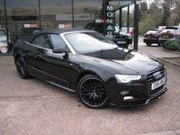 2015 AUDI A5 2.0 TDI S LINE SPECIAL EDITION PLUS 2d 175 BHP £16990.00